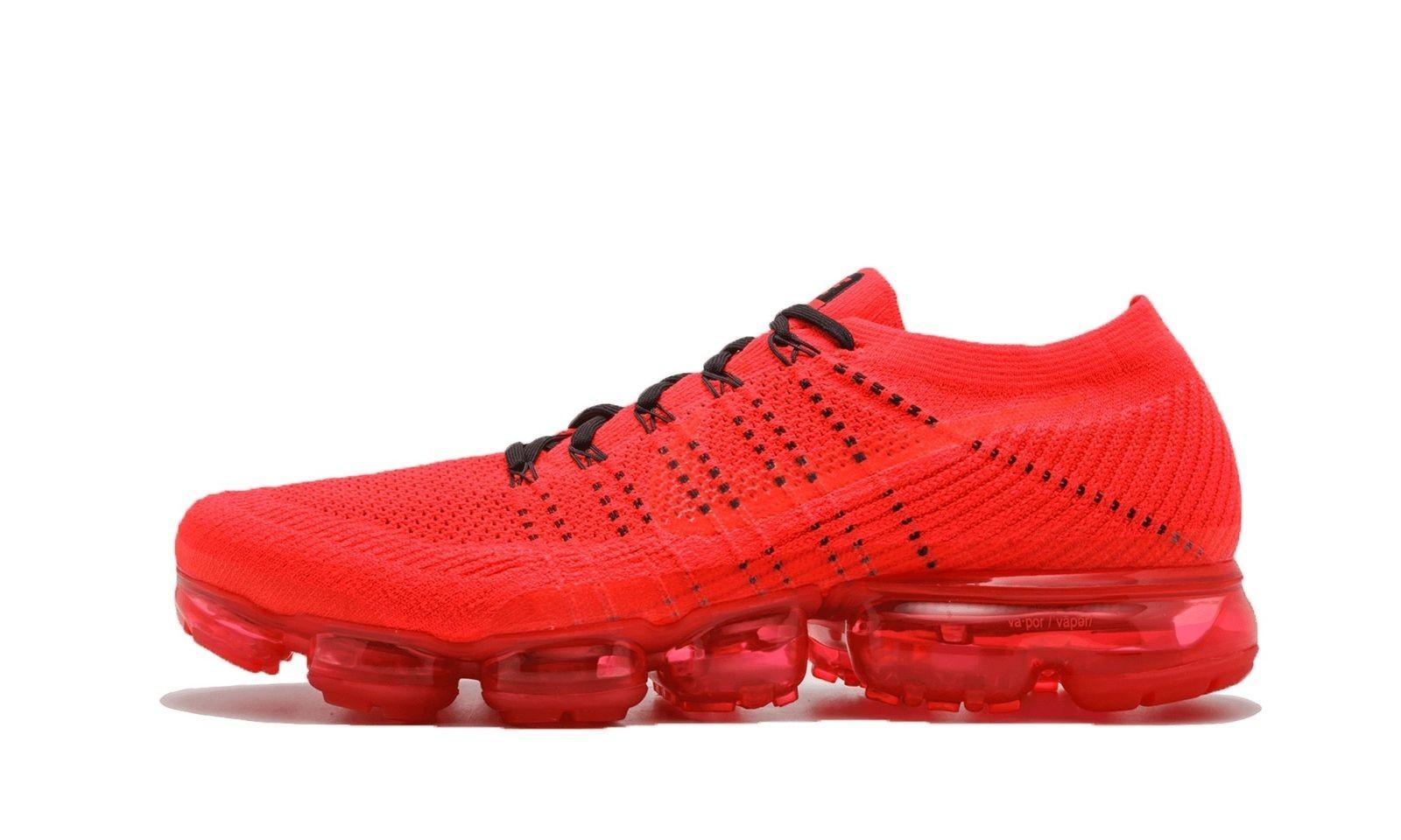 Nike Hombre Air Vapormax FK Negras/Naranjas-Blancas AA2241-006