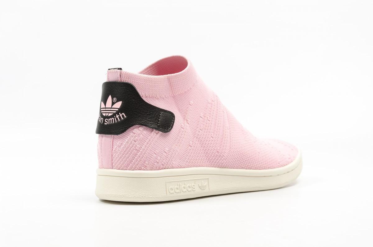 adidas stan smith rosas mujer