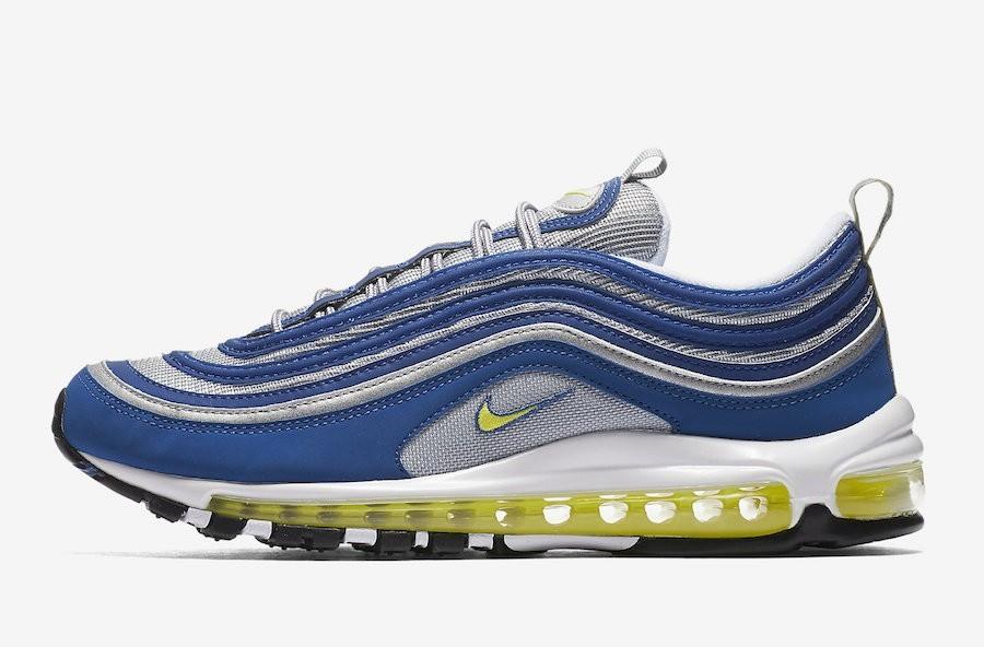 Nike Air Max '97 Azules/Amarillas 921826-401