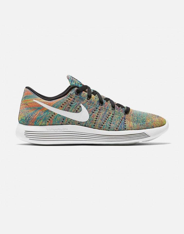 Nike Lunarepic Low Flyknit Hombre Negras 843764-004