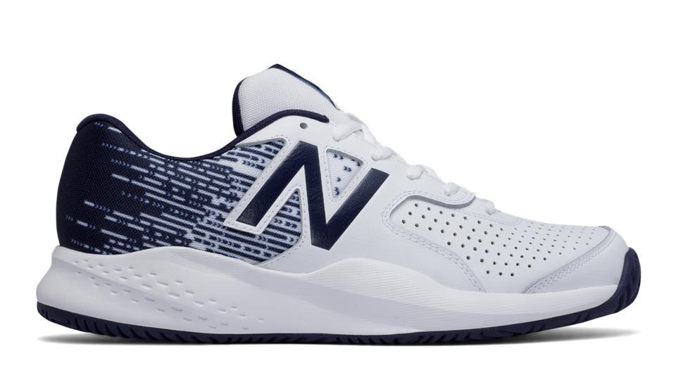 New Balance Hombre MC696WB3 696v3 Blancas with Navy