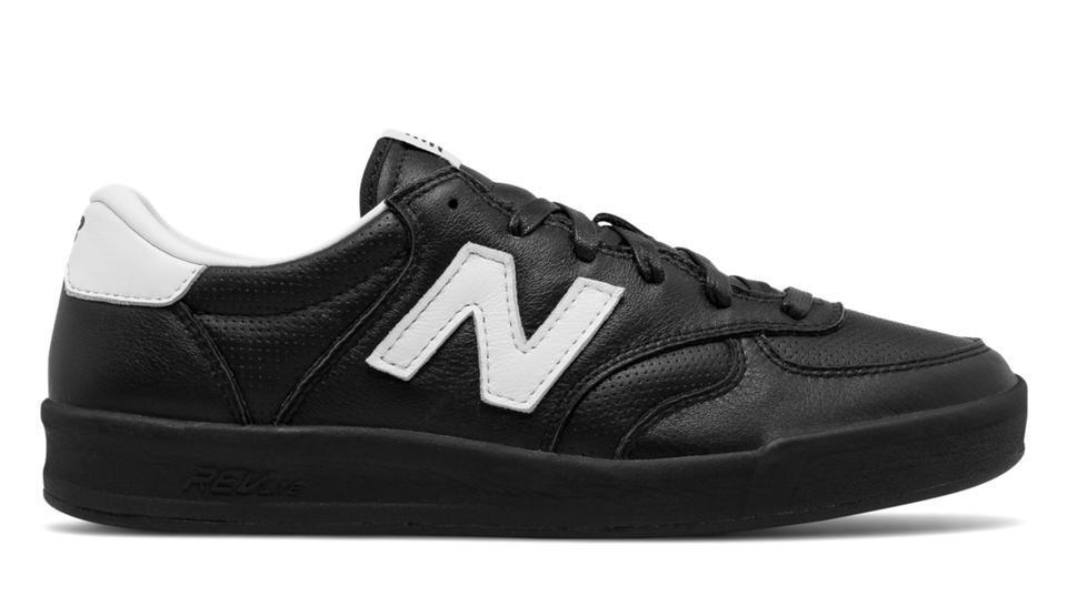 New Balance Hombre CRT300LA 300 Leather Negras with Plata
