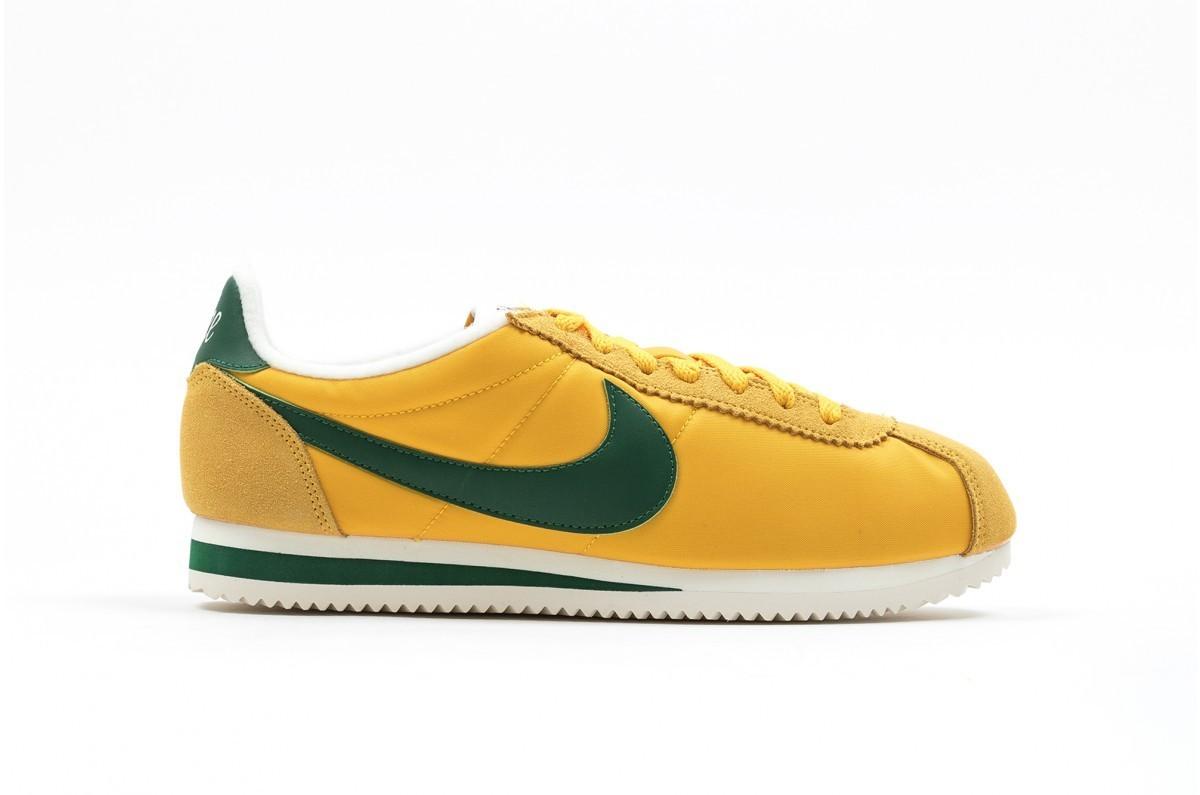 zapatillas nike hombre amarillas