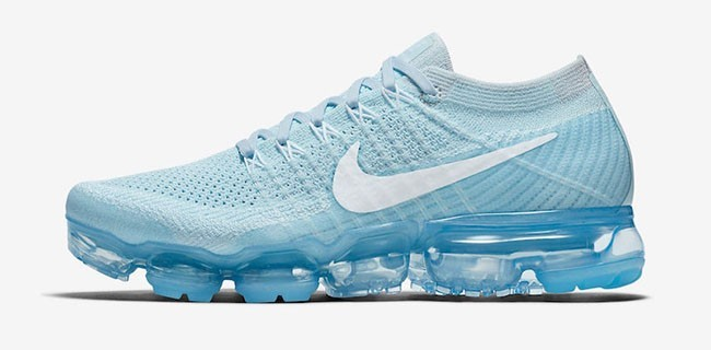 Nike Air Vapormax Flyknit Mujer 849557-404 Azules