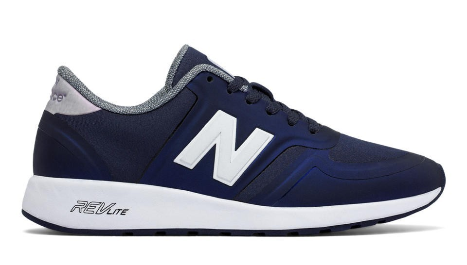 New Balance Mujer WRL420LA 420 Outerspace with Blancas