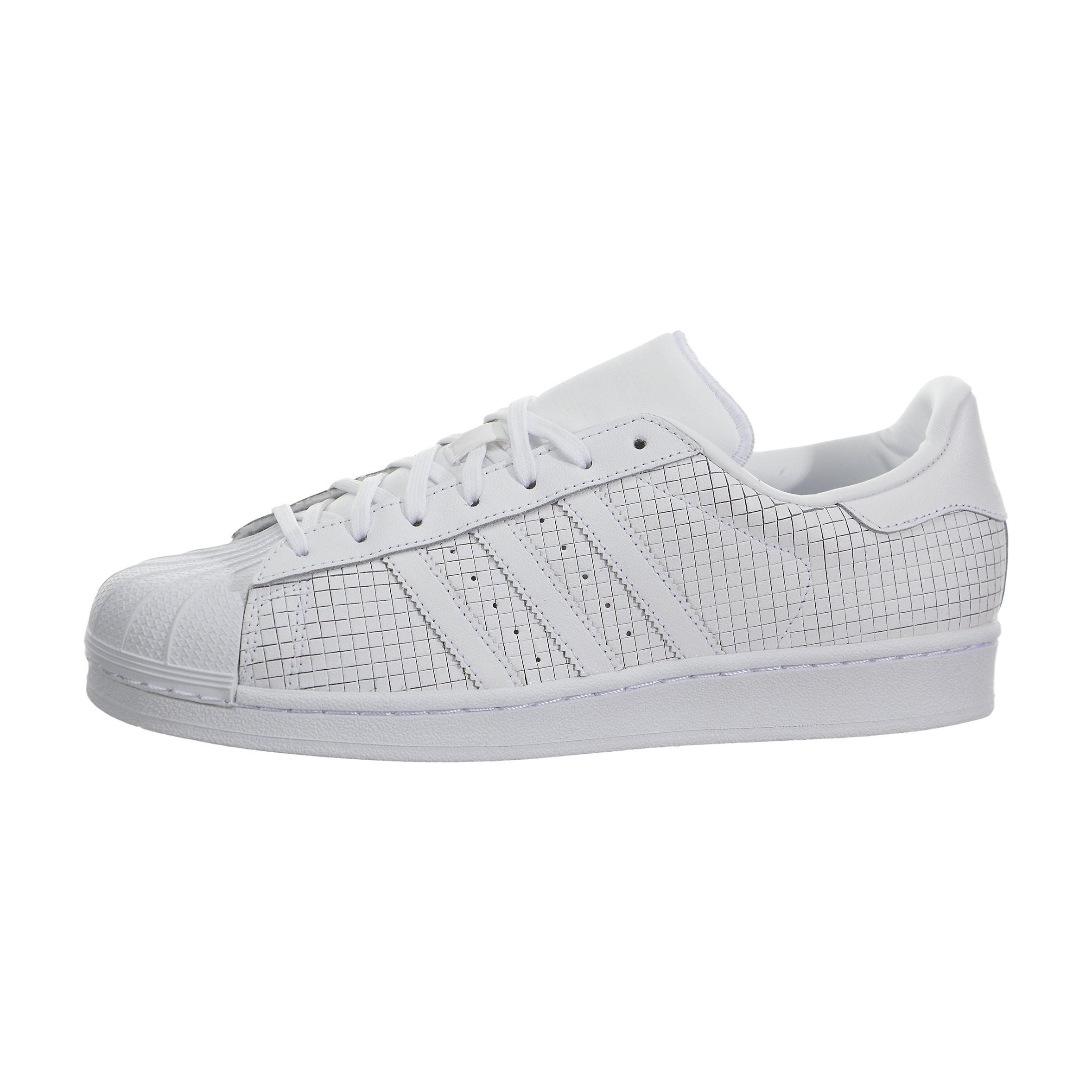 Hombre adidas Originals Superstar Zapatillas Blancas AQ8334