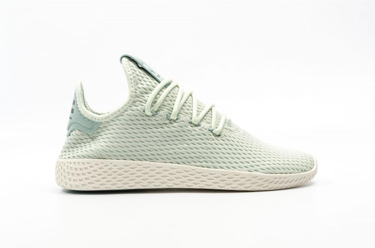 Adidas x Pharrell Tennis Hu Hombre verdes CP9765