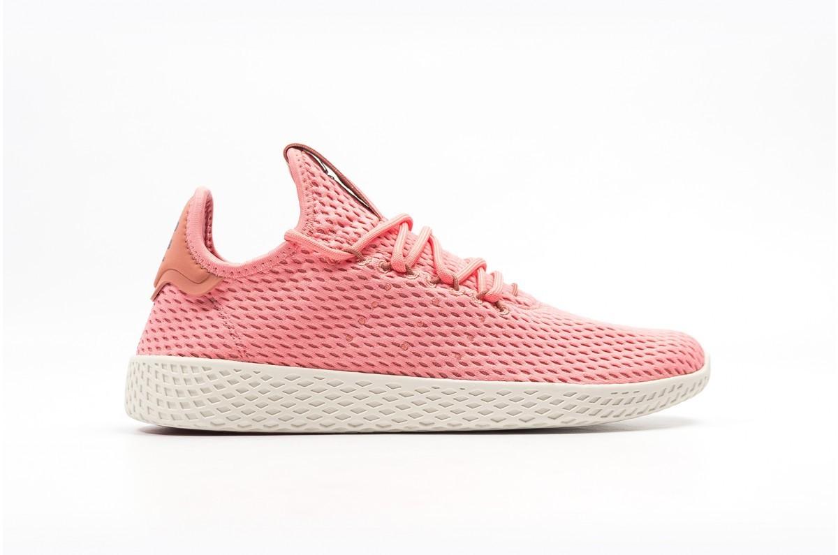 Adidas x Pharrell Tennis Hu Mujer Rosas BY8715