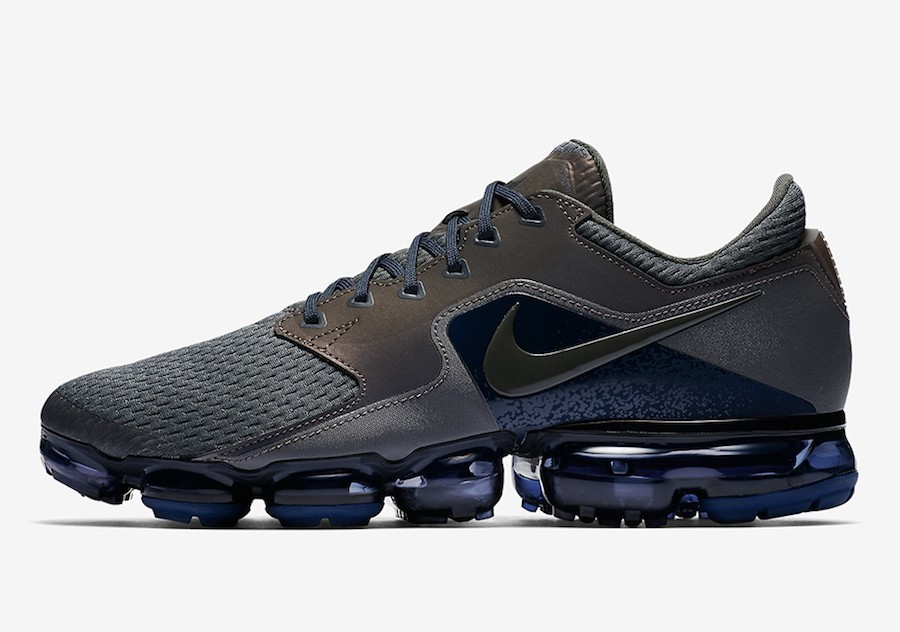 Hombre Nike Air VaporMax Malla CS Grises Azules Negras AJ4469-002