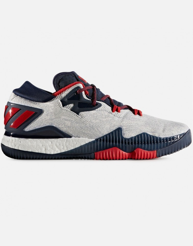Adidas Crazylight Boost Low Hombre Blancas B49755