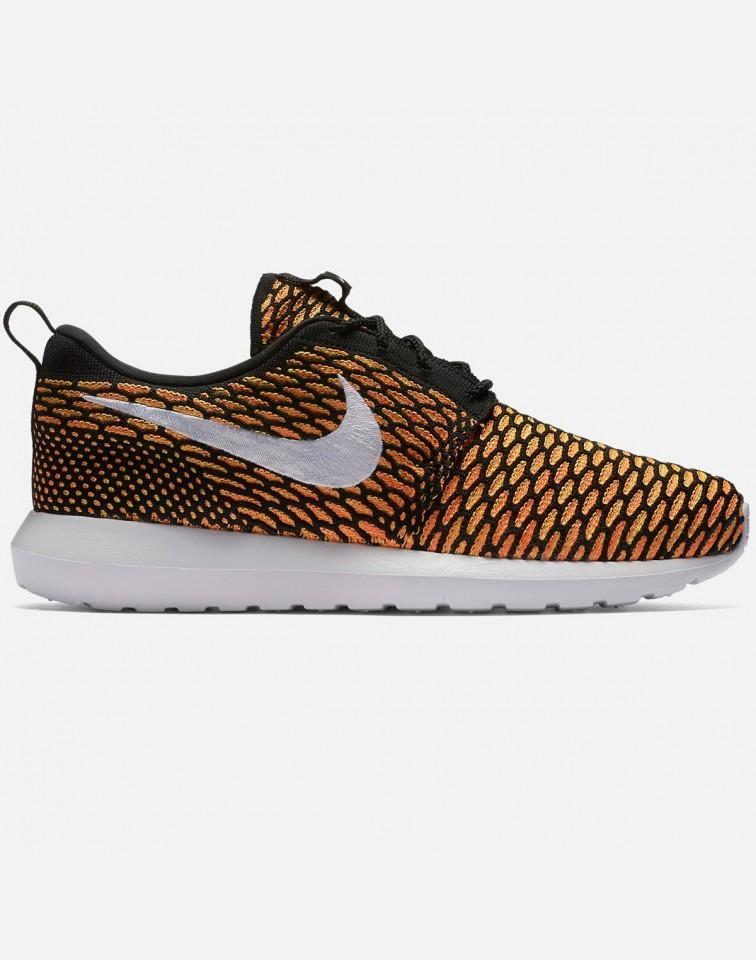 Nike Roshe Flyknit Hombre Negras 677243-018