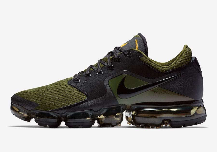 Hombre Nike Air VaporMax CS Corriendo AH9046-005 Oliva