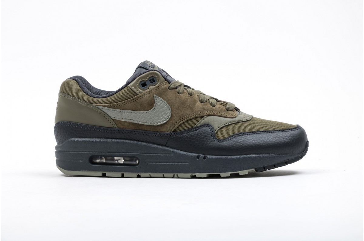 Nike AIR MAX 1 Premium Hombre verdes 875844-201