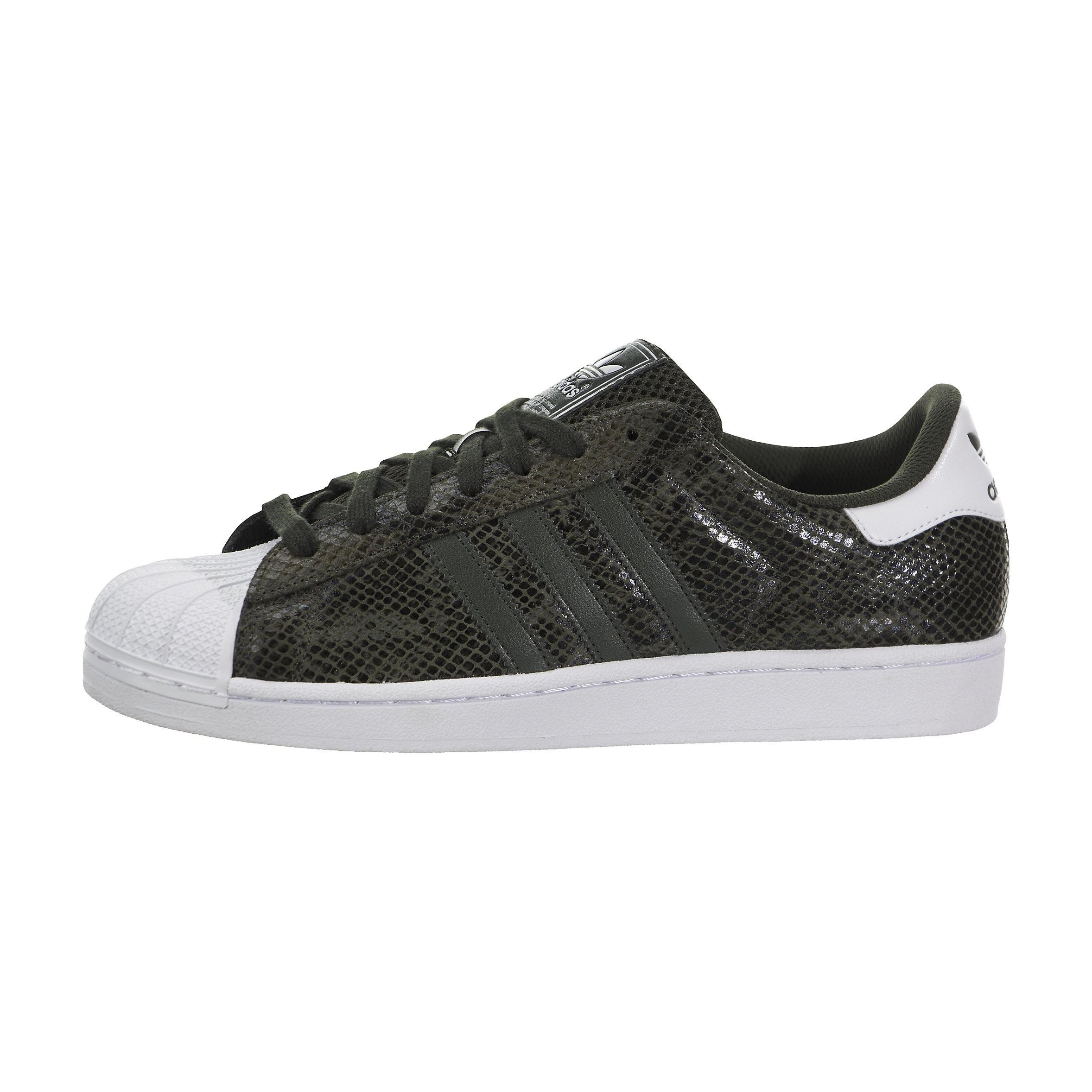 Adidas Originals Superstar 2 Hombre Zapatilla Night Cargo/Blancas S84873