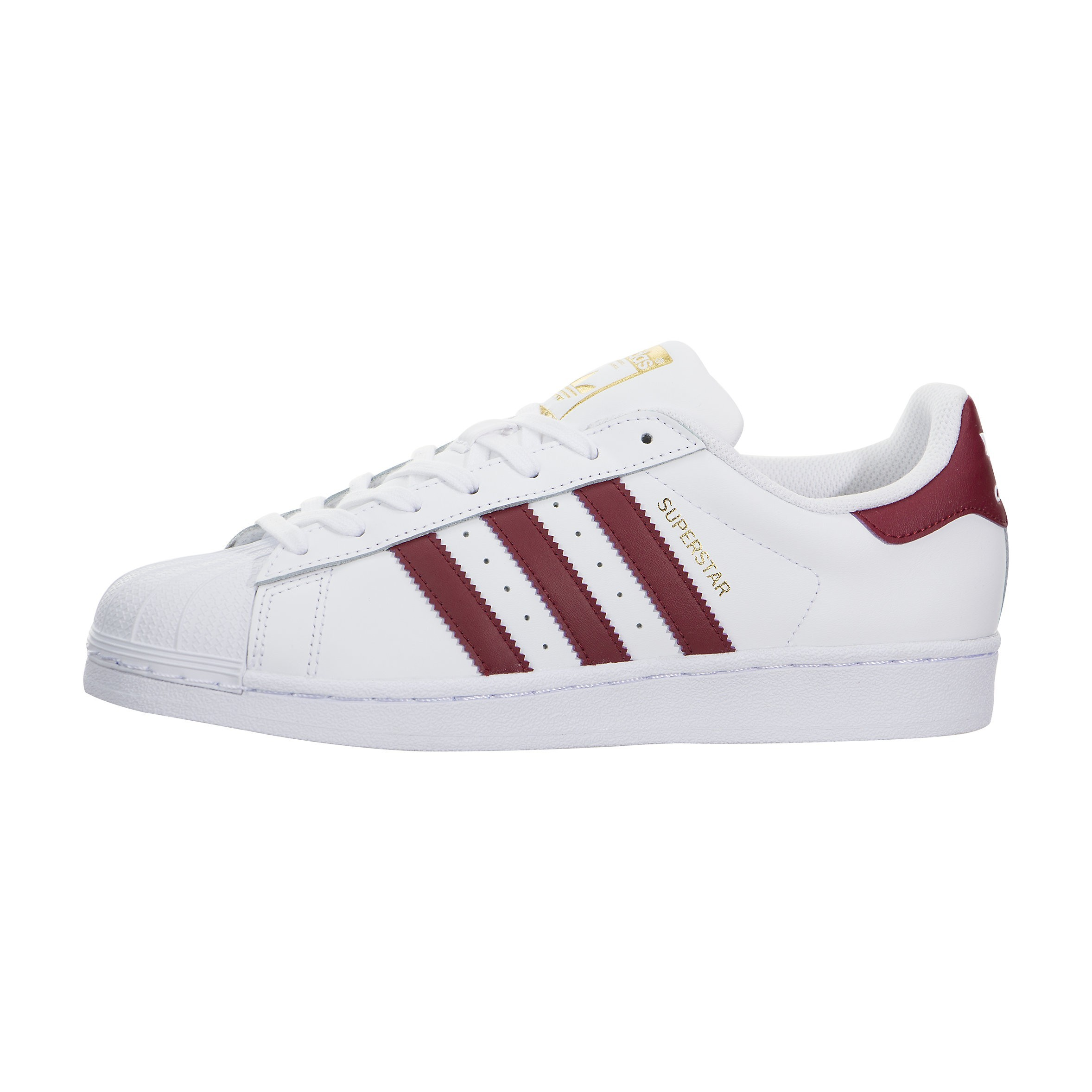 Hombre adidas Superstar Foundation Zapatilla Blancas By3713