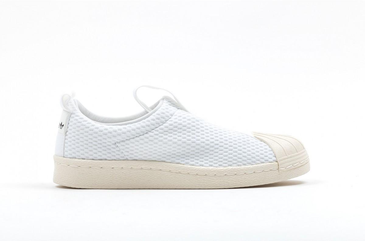 Adidas Superstar BW35 Slip On Mujer Blancas BY2949