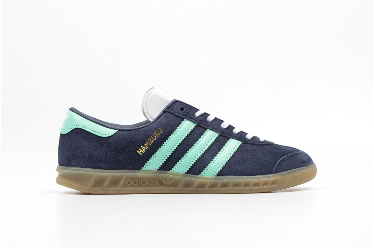 Adidas Hamburg Mujer Grises BB5112