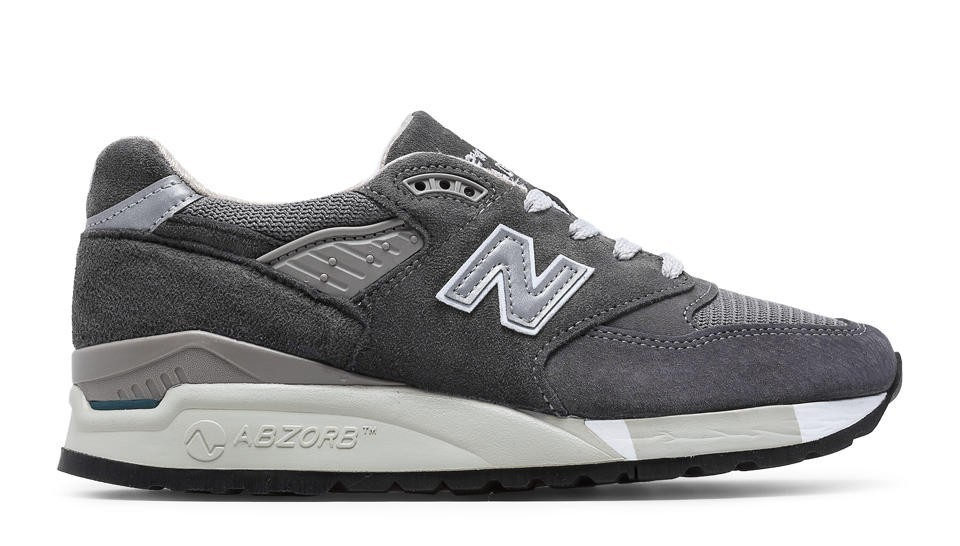 New Balance Mujer W998CH 998 Charcoal