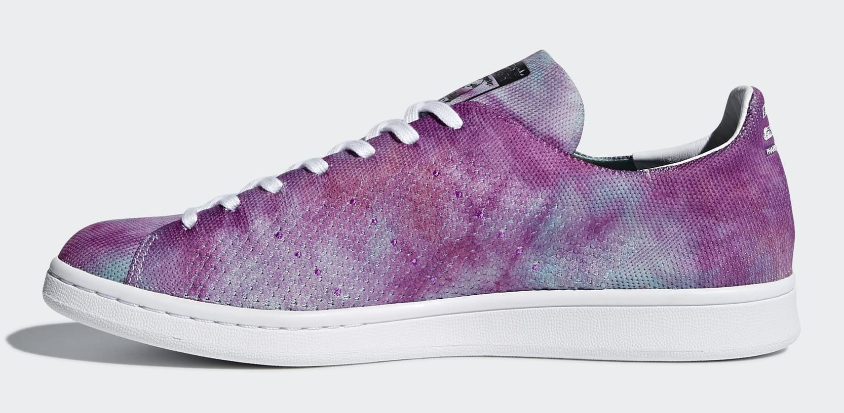 Adidas Pharrell x Stan Smith Hu Holi 'Chalk Coral' DA9612