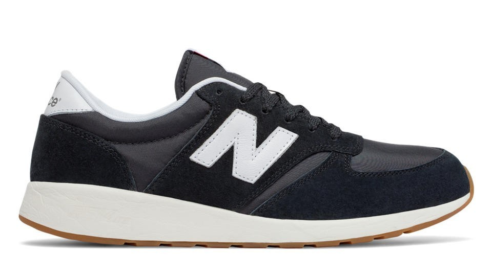 New Balance Hombre MRL420SD 420 Re-Engineered Negras with Blancas