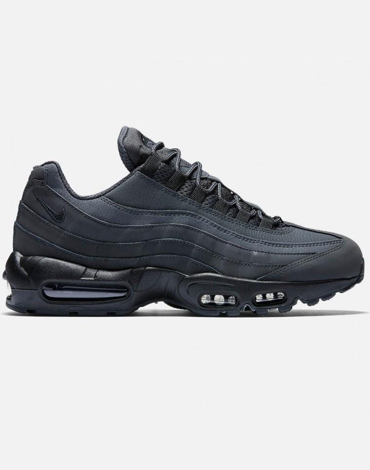 Nike AIR MAX 95 Essential Hombre Negras 749766-010