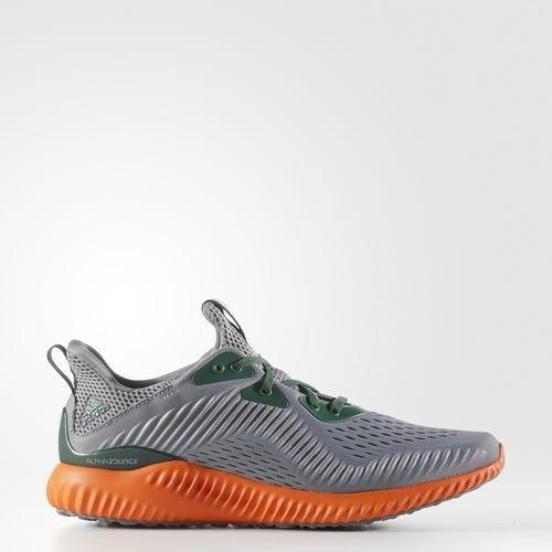 Adidas Alphabounce EM Color Grises / Naranjas / Negras / verdes Zapatillas AC8045