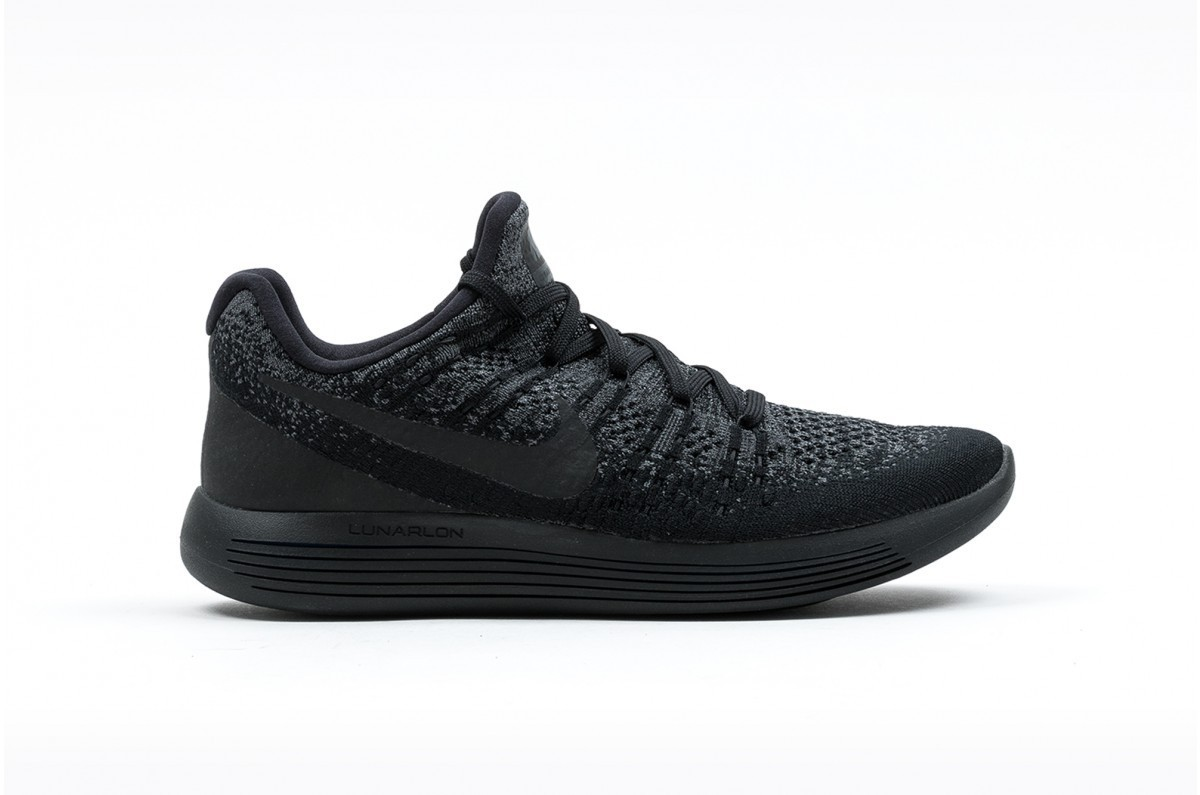 Nike Lunarepic Low Flyknit 2 Hombre Negras 863779-004