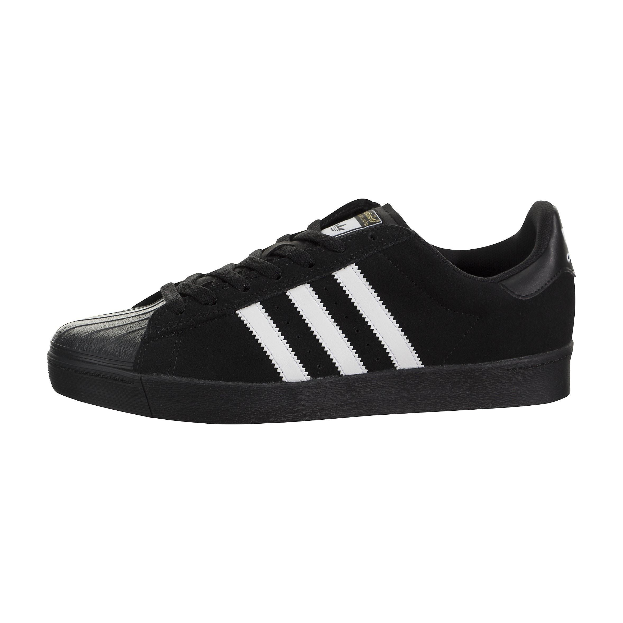 Adidas Hombre Superstar Vulc ADV Negras/Blancas-Negras AQ6861