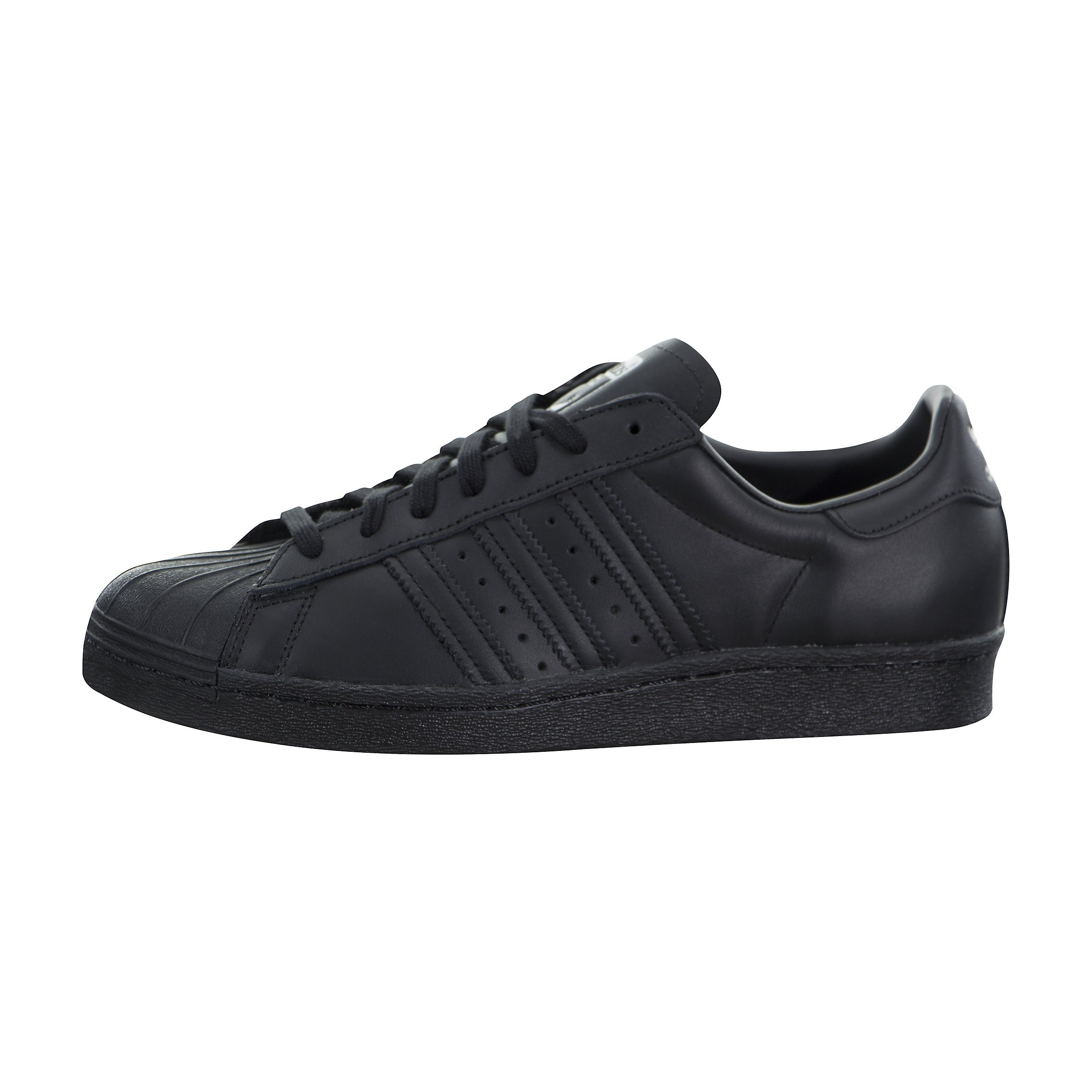 adidas Superstar 80s Leather Negras Hombre S79442