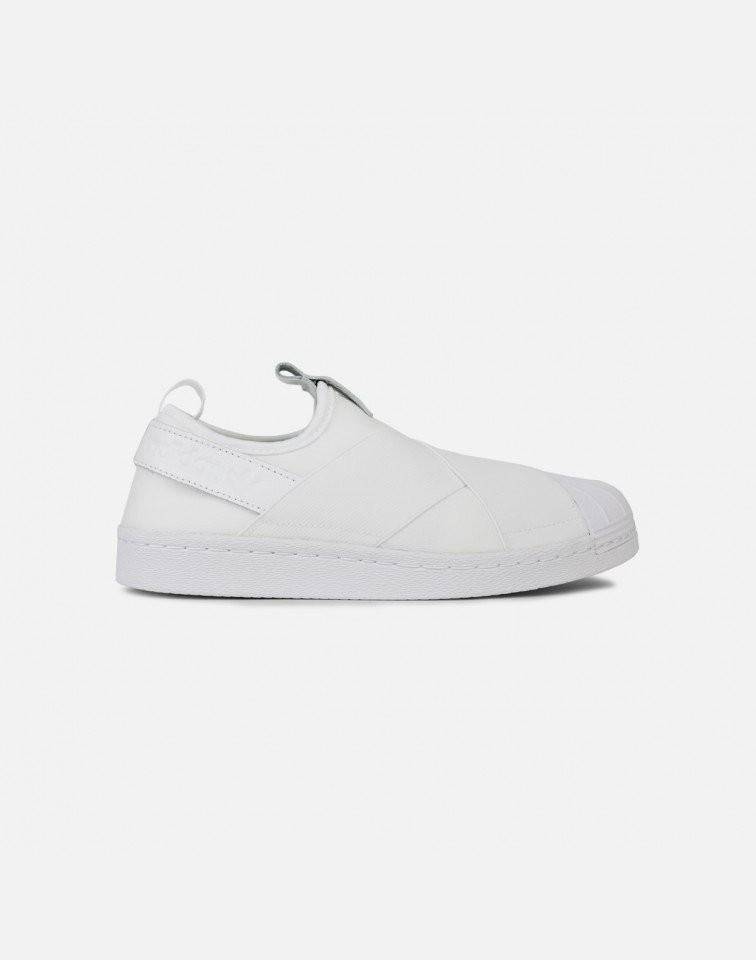 Adidas Superstar Slip-On Mujer Blancas S81338