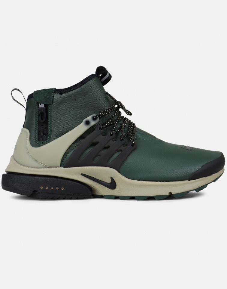 Nike Air Presto Mid Utility Hombre Grises 859524-300
