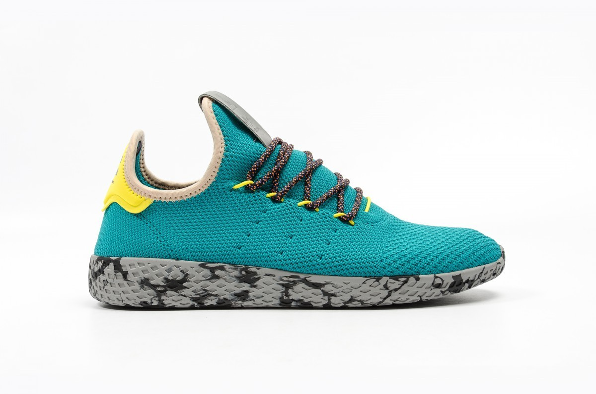 Adidas x Pharrell Tennis Hu Hombre Púrpura CQ1872