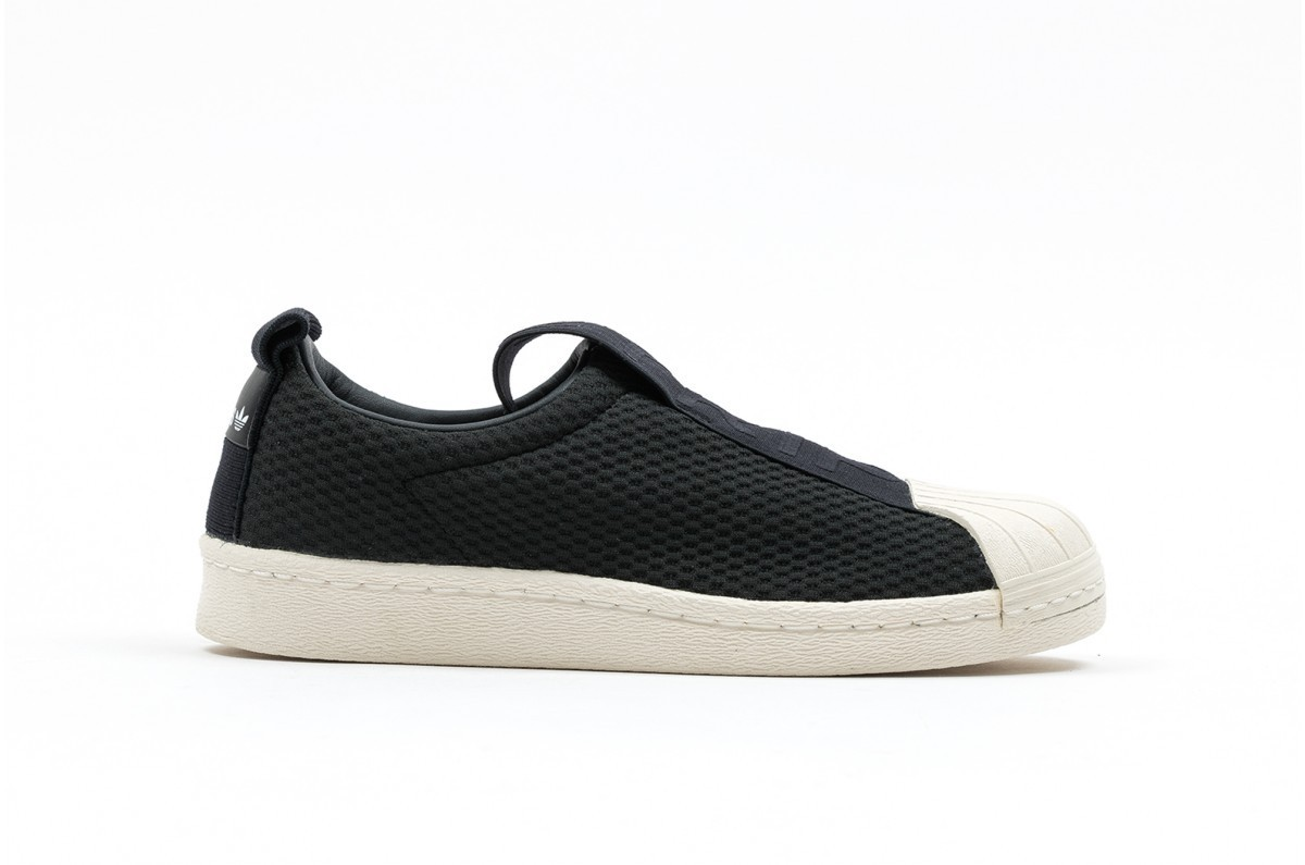 Adidas Superstar BW35 Slip On Mujer Negras BY9137