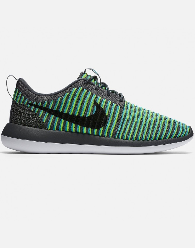 Nike Roshe Two Flyknit Hombre Grises 844833-004