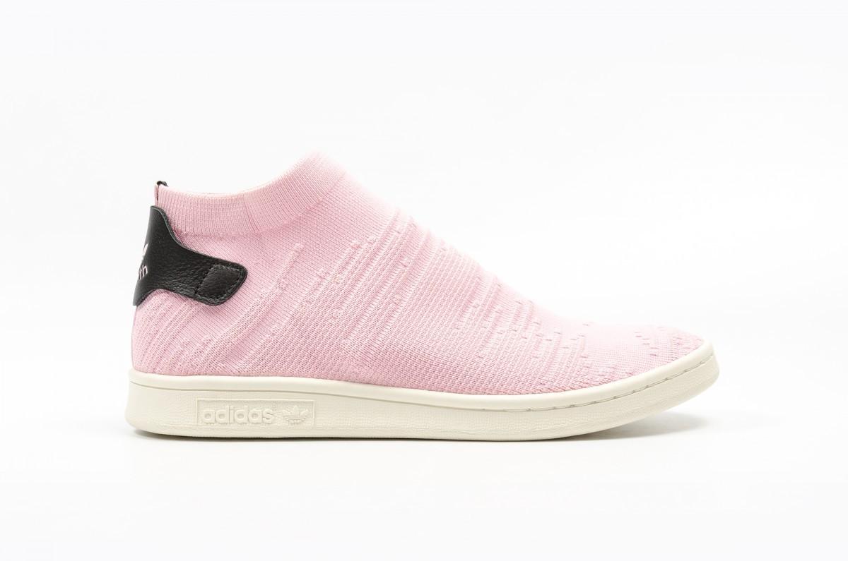 Adidas Stan Smith Shock Primeknit Mujer Rosas BY9250