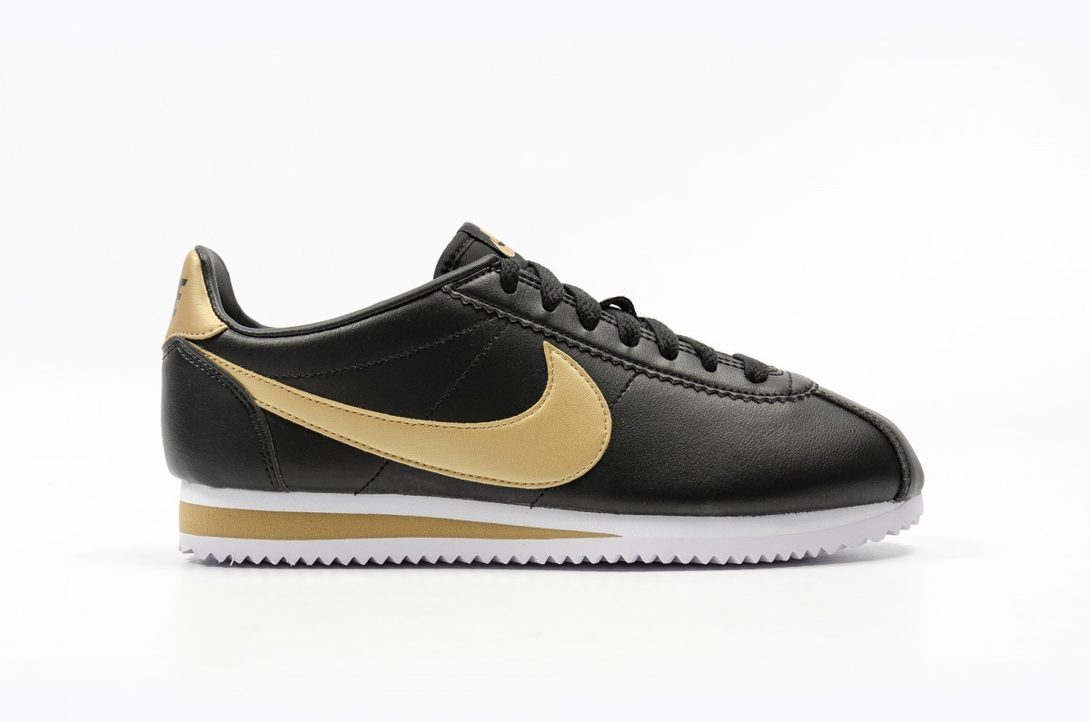 Nike Mujer Classic Cortez Leather Mujer Negras 807471-008