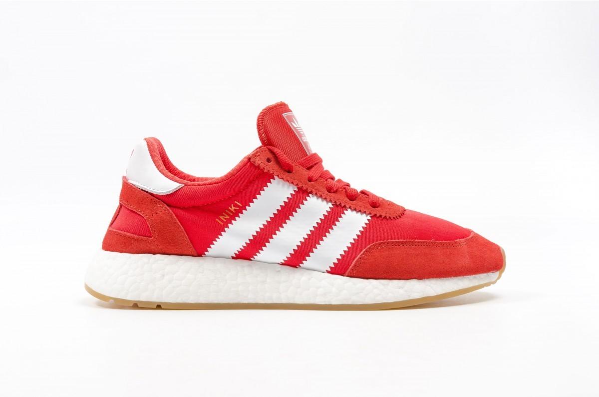 Adidas Iniki Runner Hombre Rojas BY9728