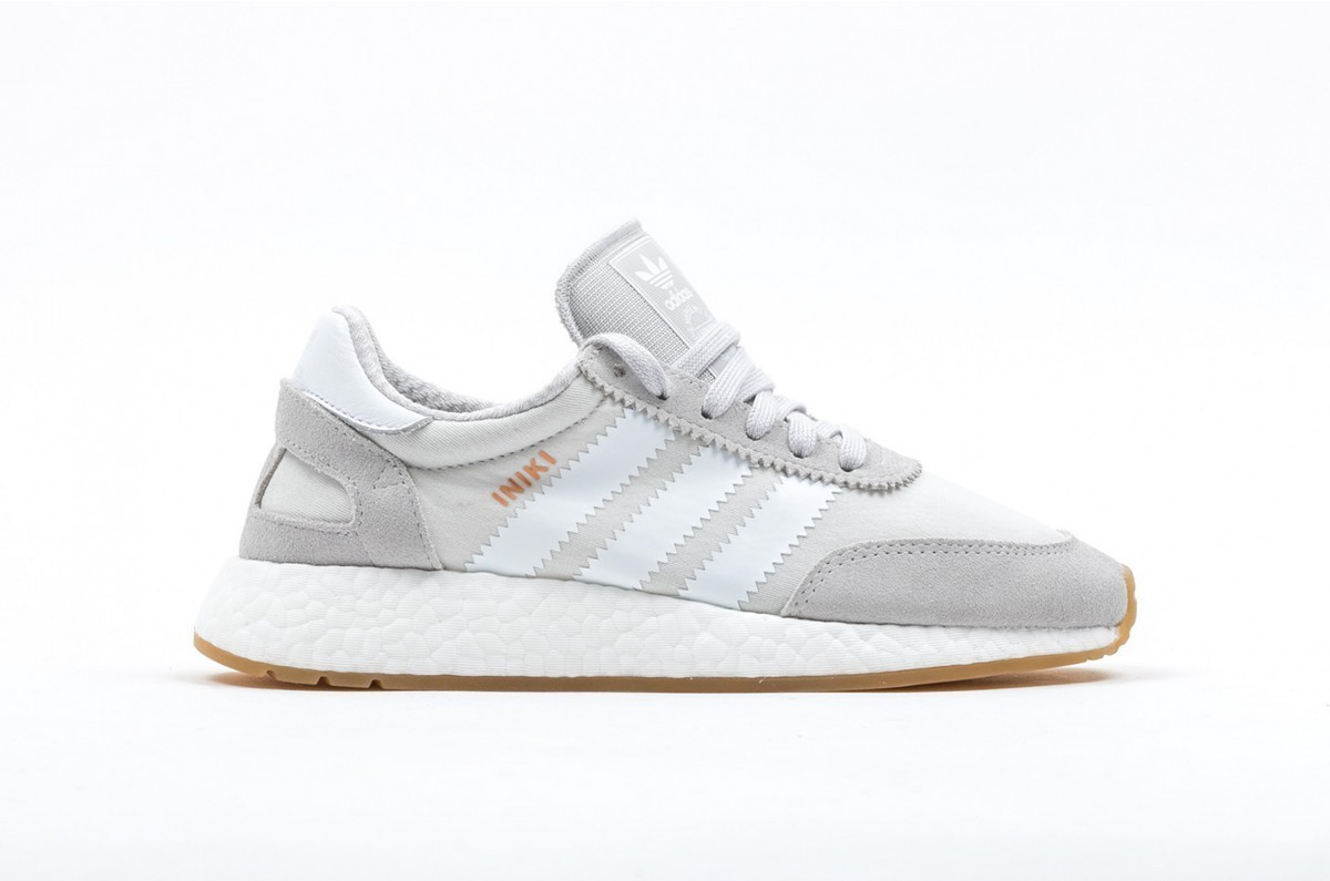 Adidas Iniki Runner Boost Mujer Grises BY9093