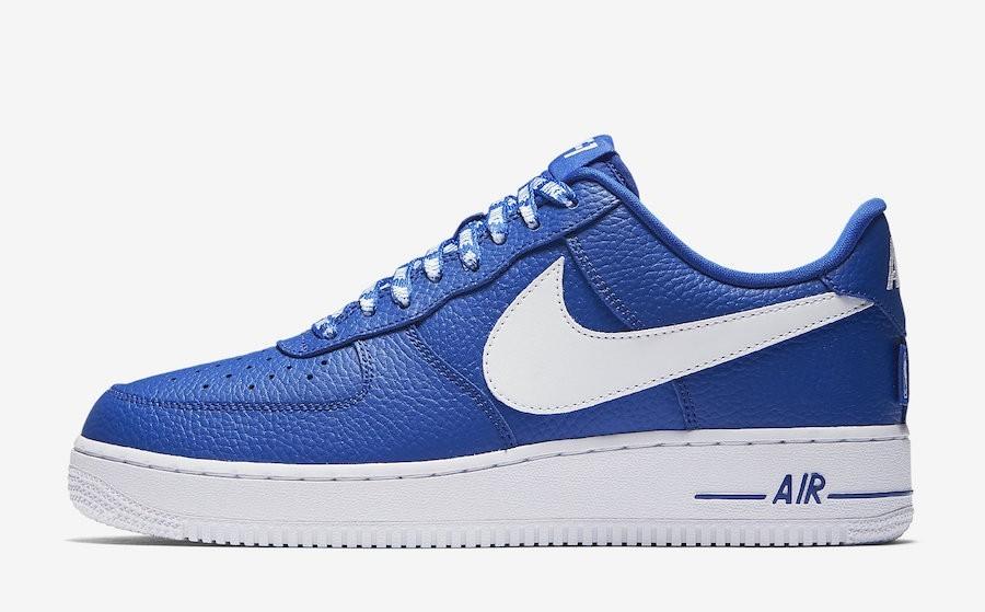 Nike Air Force 1 Low NBA Pack Azules 823511-405