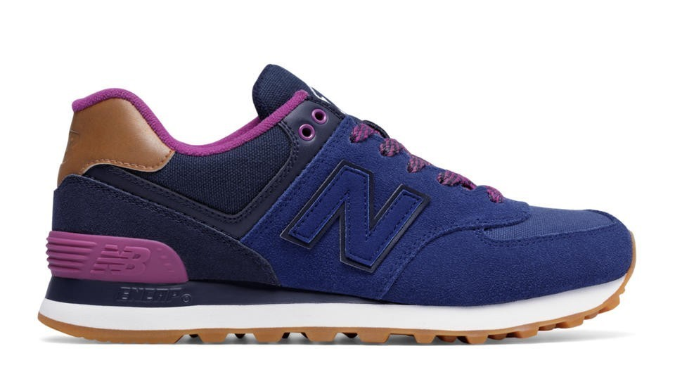 New Balance Mujer WL574AMA 574 Collegiate Atlantic with Pigment and Jewel