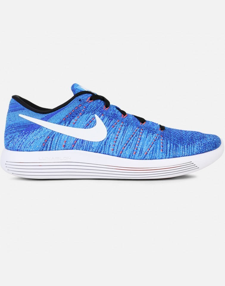 Nike Lunarepic Low Flyknit Hombre Azules 843764-401