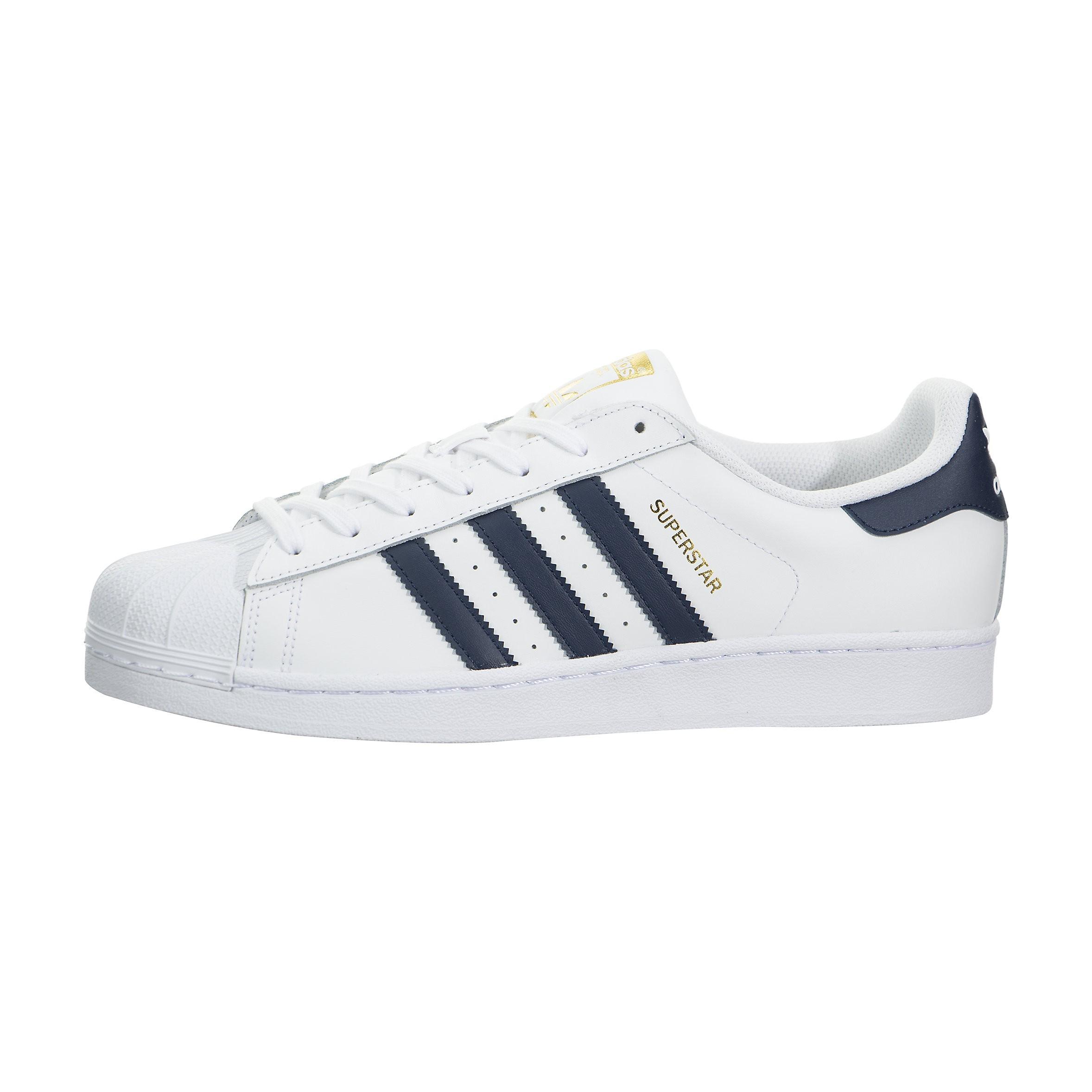 adidas Superstar Foundation Low Hombre Estilo de vida Zapatilla Blancas BY3712