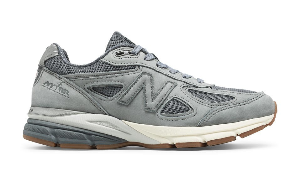 New Balance Mujer W990NY4 990v4 NYRR Gunmetal with Grises