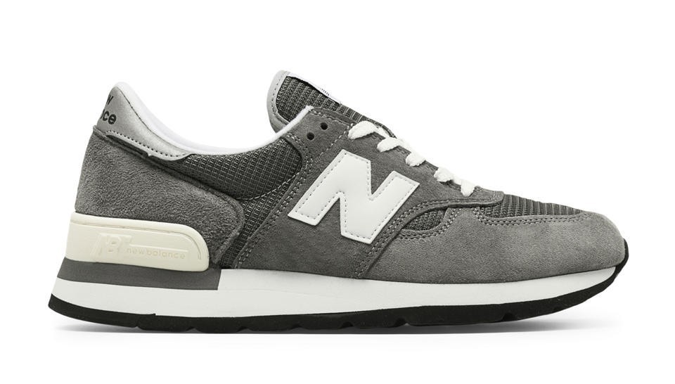 New Balance Hombre M990GRY 990 Made in the USA Bringback Grises with Blancas