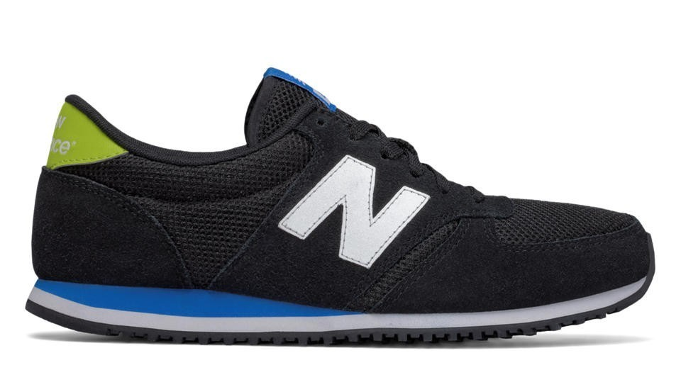 New Balance Unisex U420KSL 420 Negras with Bright Laser Azules