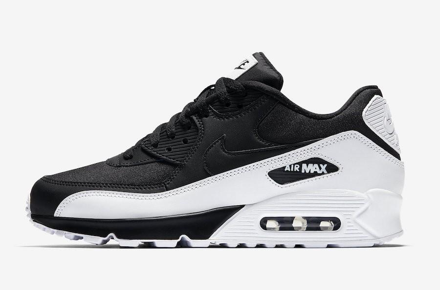 Nike Air Max 90 Essential Negras Blancas Hombre 537384-082