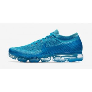 Hombre Nike Air Vapormax Flyknit 849558-402 Azules