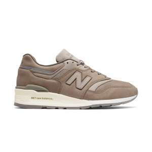 New Balance Hombre M997BKR 997 Made in USA Beige with Grises