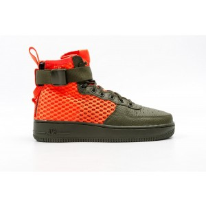 Nike SF Air Force 1 Mid QS Hombre Khaki AA7345-300