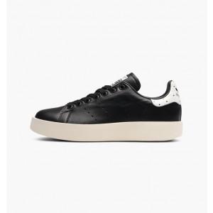 adidas Originals Stan Smith Bold Platform Negras Blancas Dot Mujer Zapatilla BA7772